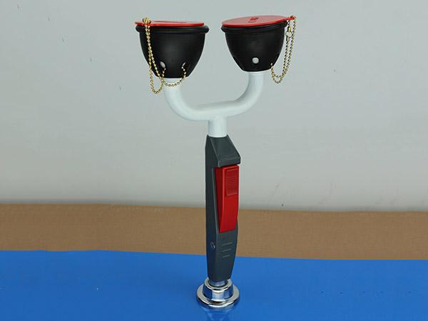 双口桌上开洗眼器